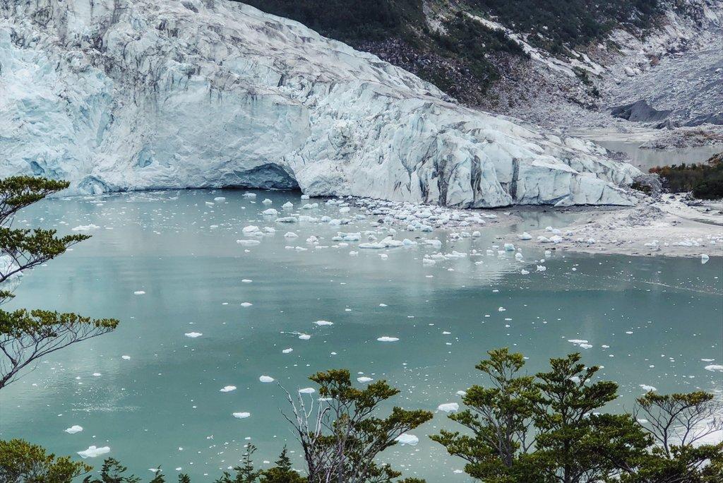 Pia-Gletscher-Patagonien-Feuerland