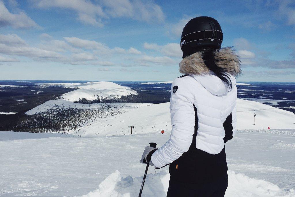 Skifahren-in-Finnland-Yllas-Lappland-1