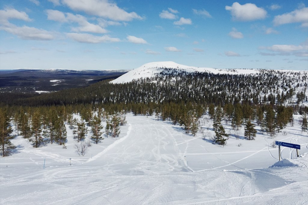 Skifahren-in-Finnland-Yllas-Lappland