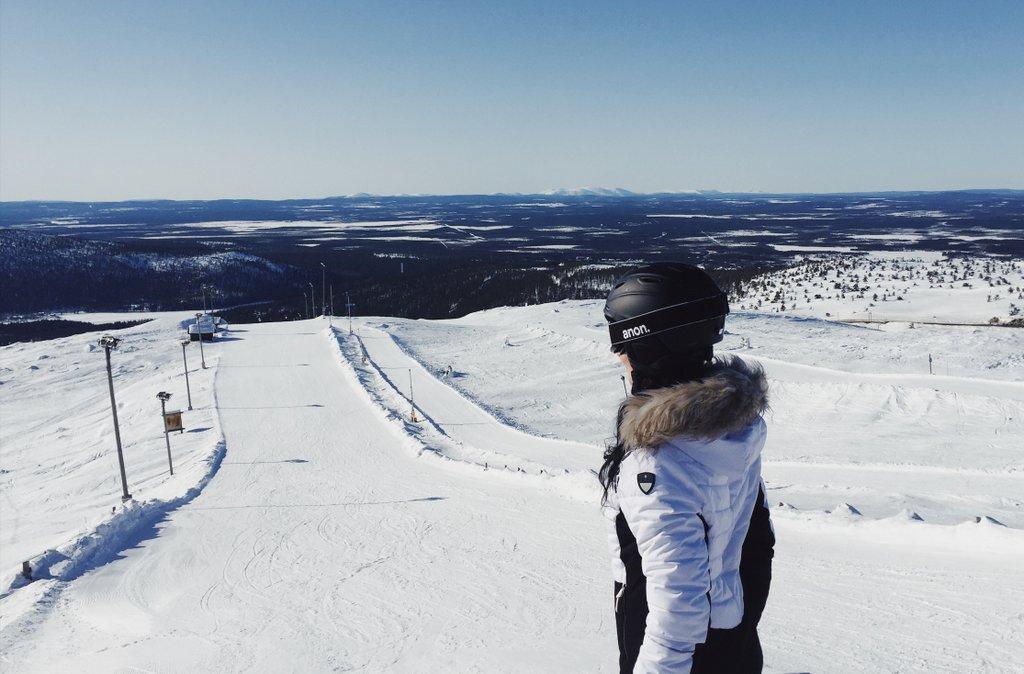 Levi-Finnland-Weltcup-Piste