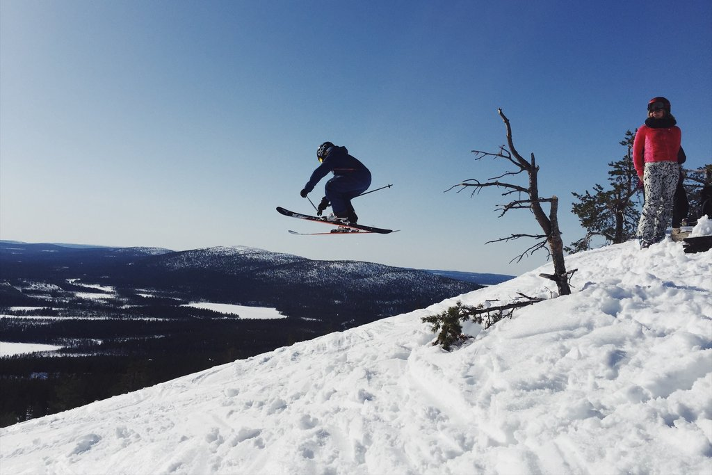 Skispass-Levi-Finnland