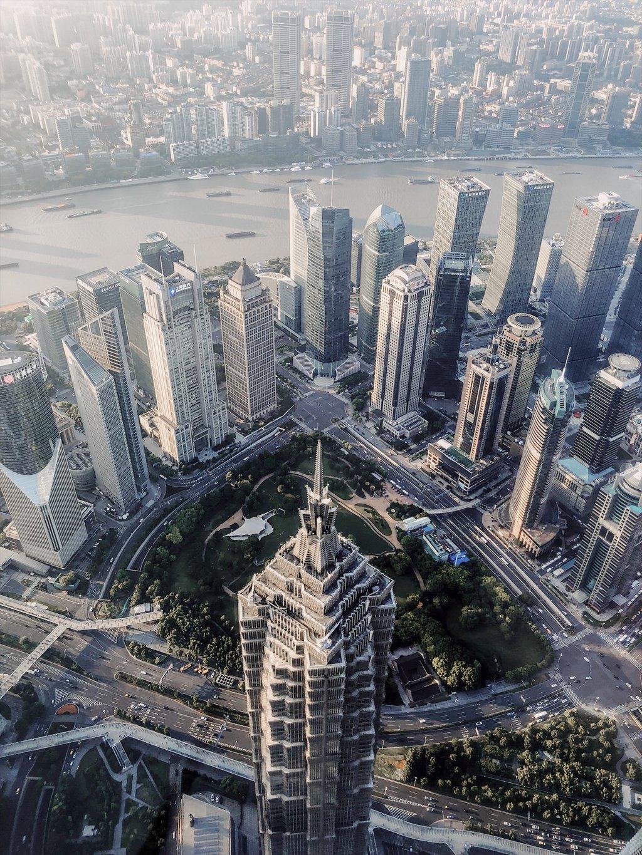 Aussicht-vom-Shanghai-Tower