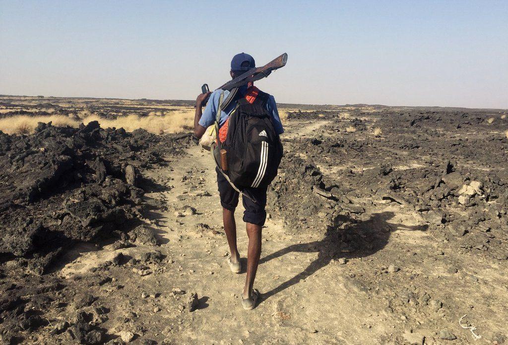 Danakil-Aethiopien-Sicherheit-bewaffnete-Eskorte