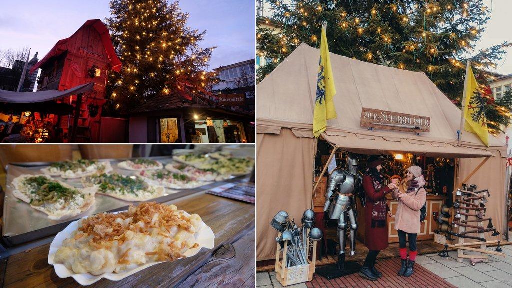 Mittelalterlicher Weihnachtsmarkt Neu-Ulm