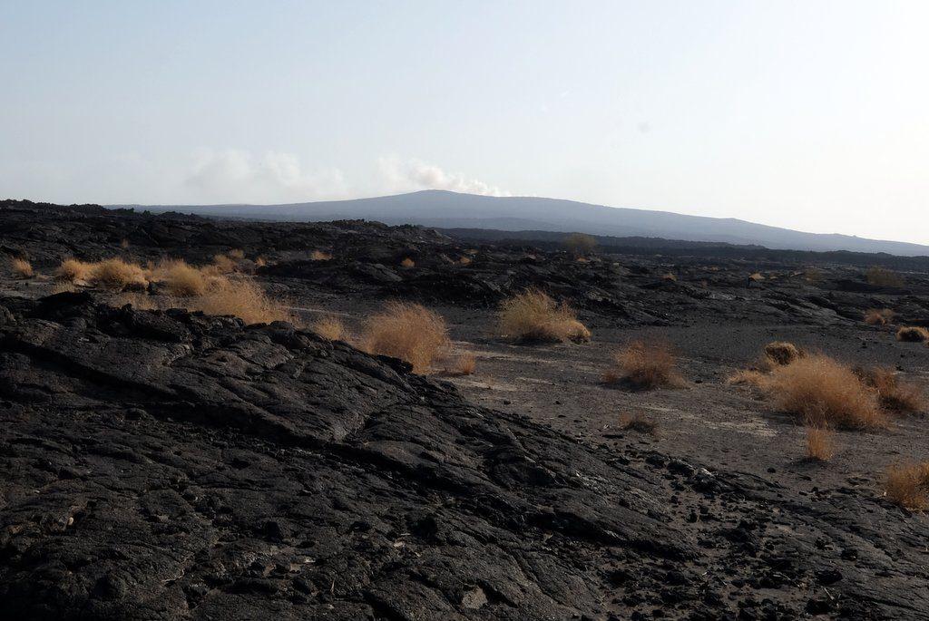 Vulkanbesteigung Danakil Wueste Aethiopien