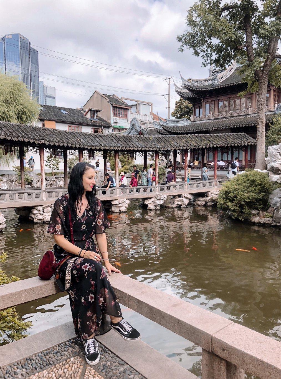 Yu-Garten-Shanghai-Bruecke