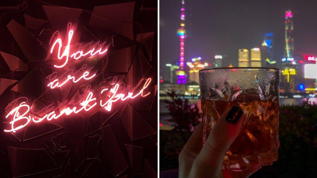 Bar Rouge Rooftop Bar am Bund Shanghai Insidertipps