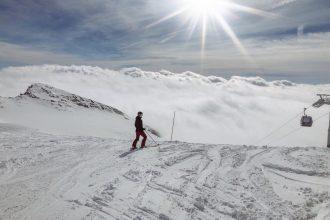 Skiurlaub-Laax