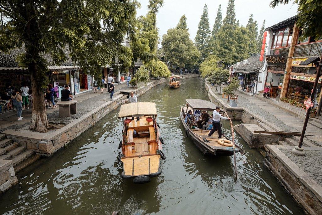 Wasserstadt Shanghai Ausflugstipps Sehenswuerdigkeiten