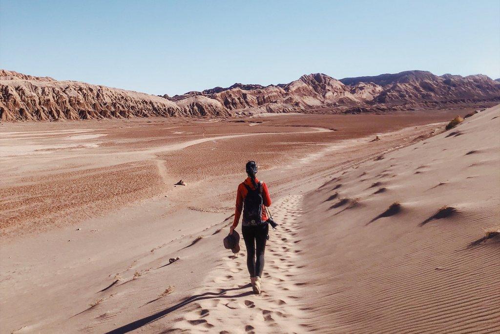 Atacama-wandern-Valle-de-la-Luna-Sand
