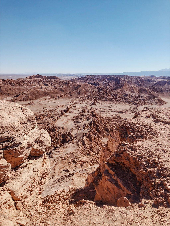 Valle de la Luna Kari Aussichtspunkt
