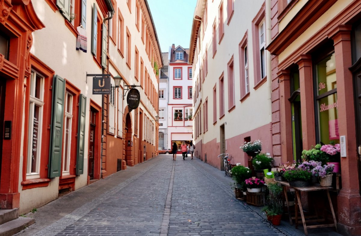 Heidelberg_Altstadt-Gassen
