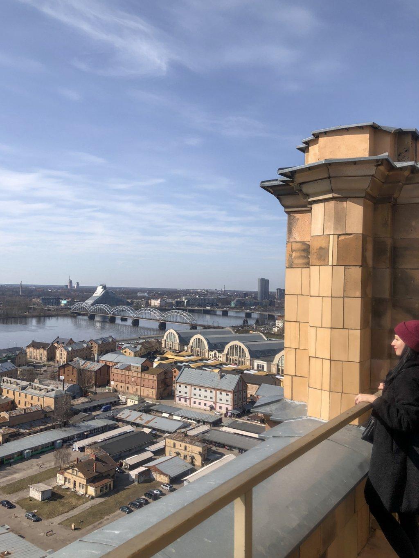 Riga Geheimtipp Aussicht Lettische Akademie der Wissenschaften
