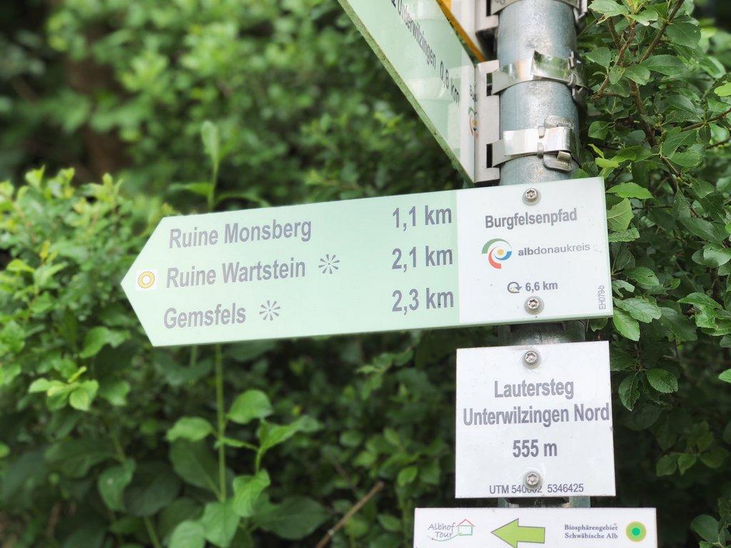 Burgfelsenpfad-Wanderwege-Grosses-Lautertal