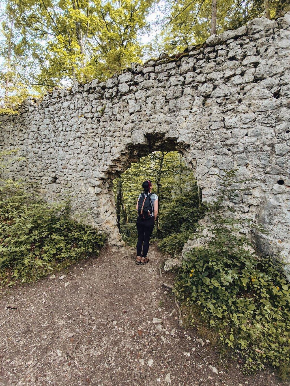 Burgruine-Wartstein-Grosses-Lautertal-wandern