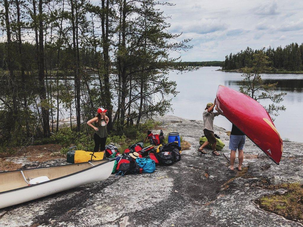 Kanu-Kanada-Urlaub-Manitoba-Portage