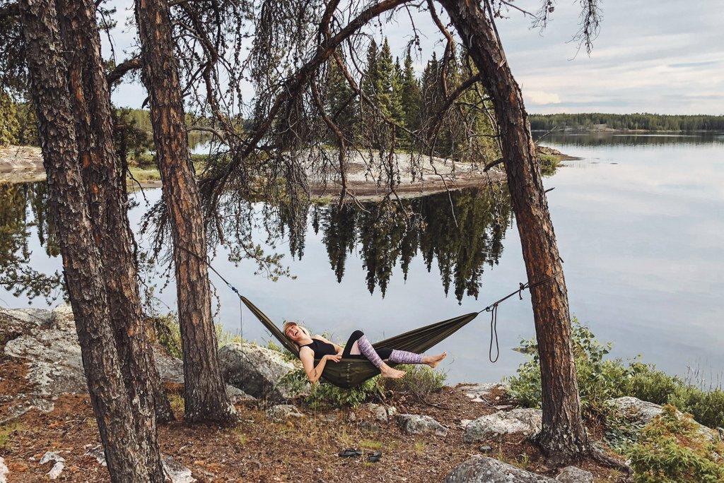 Manitoba-Camping-Outdoor-Haengematte