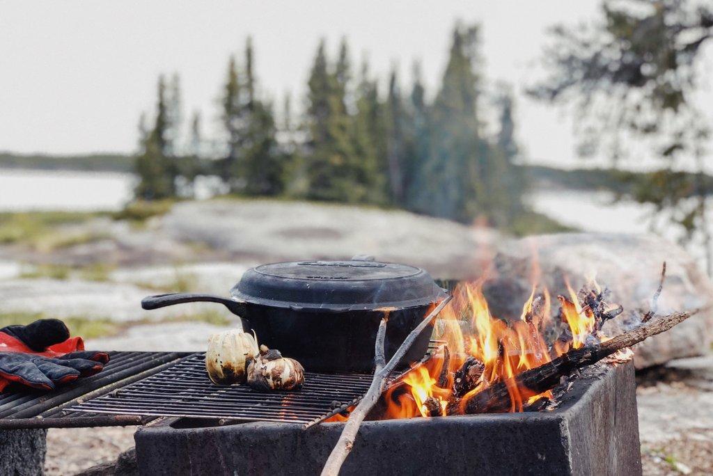 Manitoba-Kanutour-Camping-Nopiming