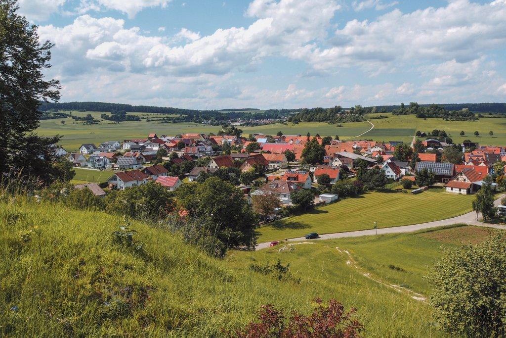 Meteorkrater-Rundwanderweg-Burgstall-Sontheim