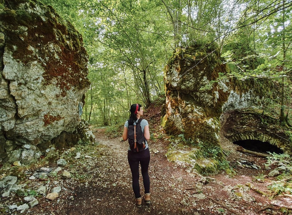 Wandern-Burgfelsenpfad-Ruine-Monsberg