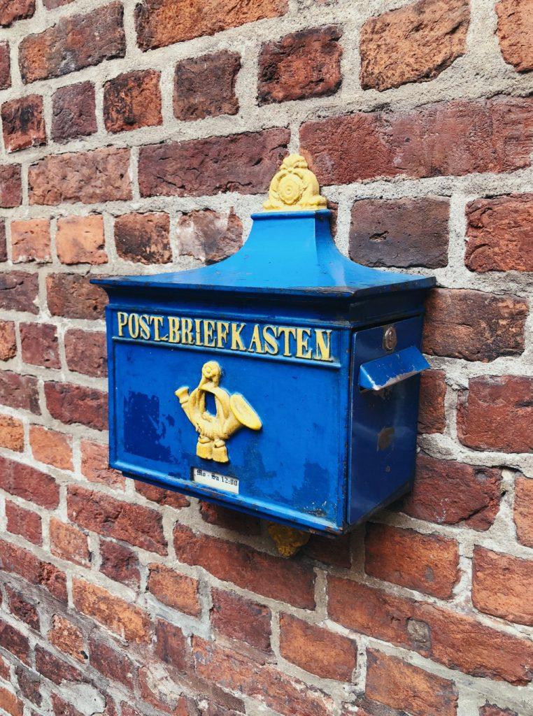 Bremen-Boettcherstrasse-Briefkasten