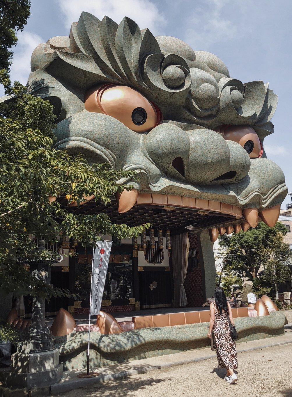 Osaka-Sehenswuerdigkeiten-Namba-Yasaka-Schrein