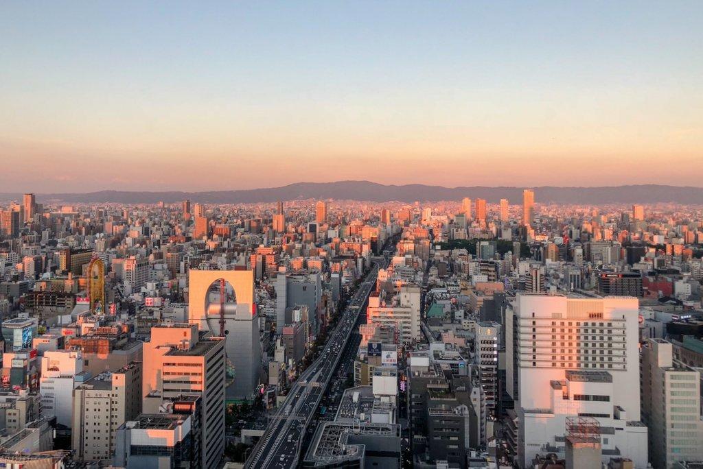 Osaka-von-oben