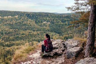 Wandern-Albstadt-Traufgang-Zollernburg-Panorama