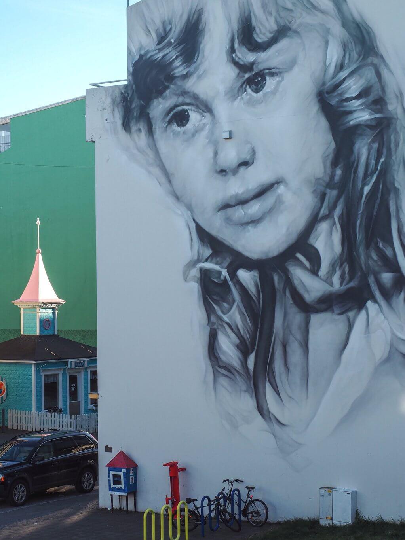 Akureyri Mural Island