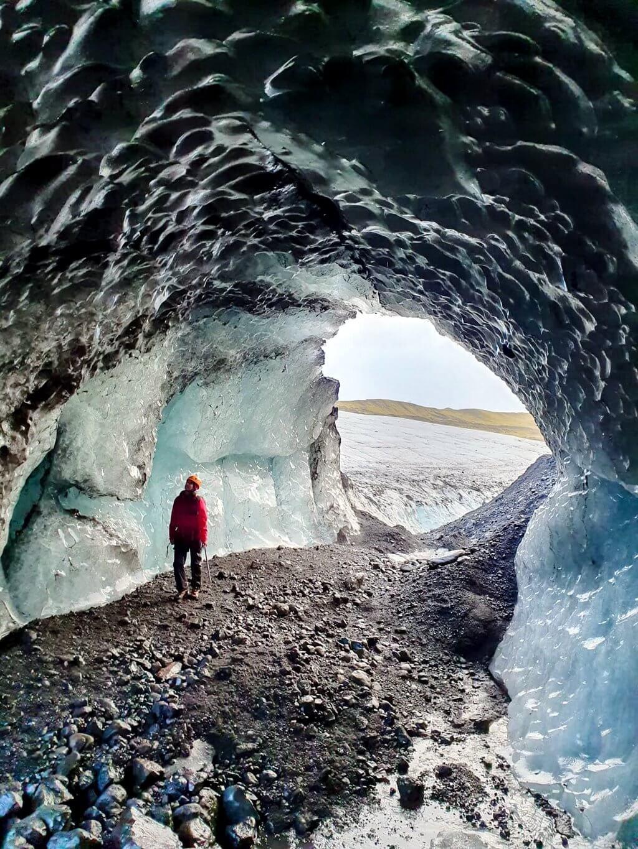 Island Eishoehle Gletschertour
