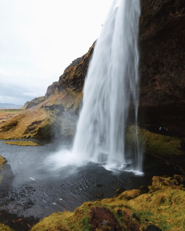 Seljalandsfoss Island Sehenswuerdigkeiten Ringstrasse