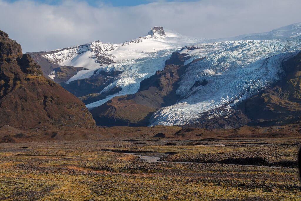 Skaftafell Vatnajokull Nationalpark Island