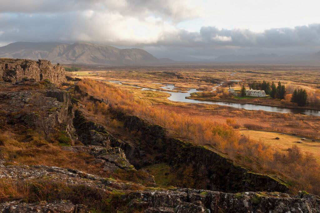 Thingvellir Nationalpark Island Golden Circle