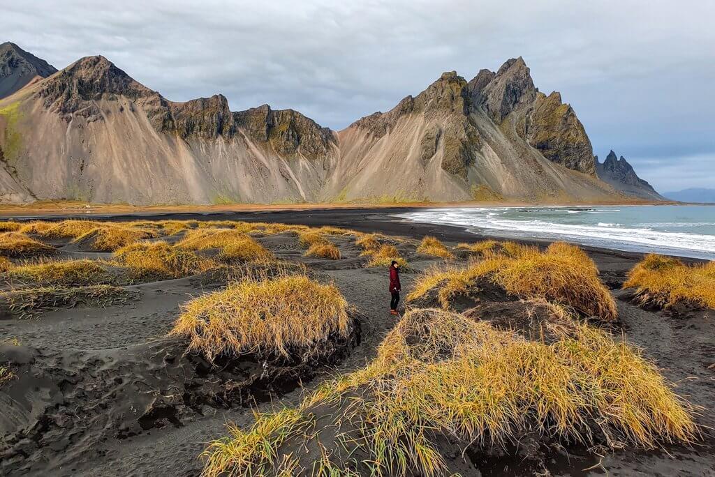 Island Stokksnes Ring Road Nebensaison