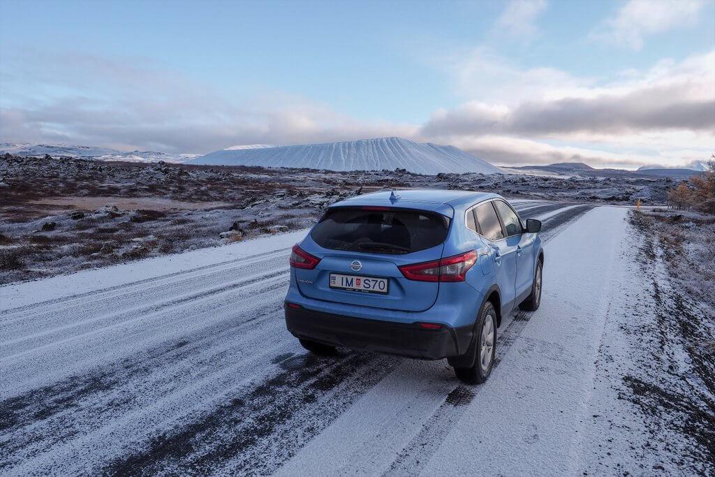 Island zur Nebensaison Oktober