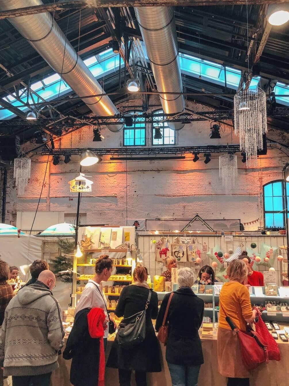 Kunstkaufhaus Wagenhallen Weihnachtsmarkttipps Stuttgart