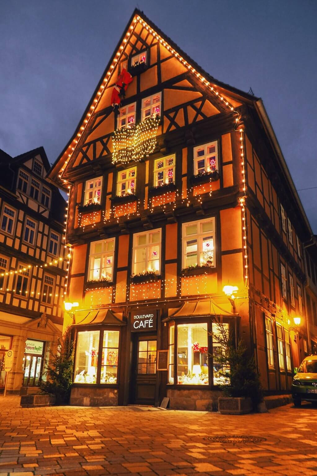 Quedlinburg Altstadt Weihnachten