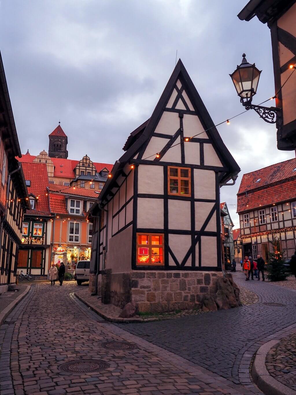 Quedlinburg Altstadtgasse