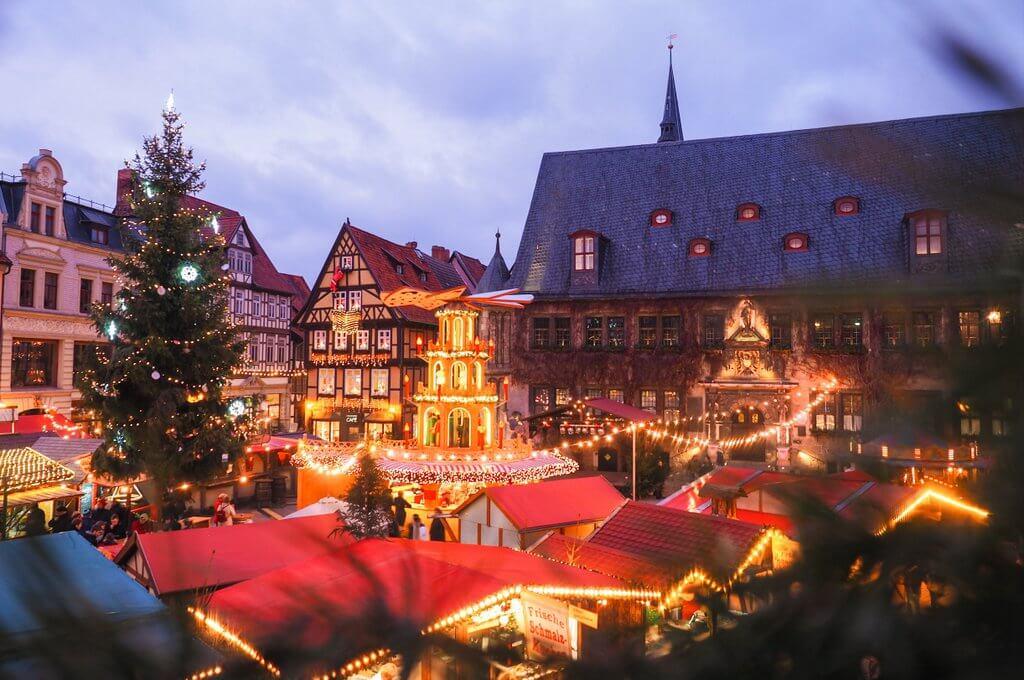 Quedlinburg Weihnachtsmarkt Harz