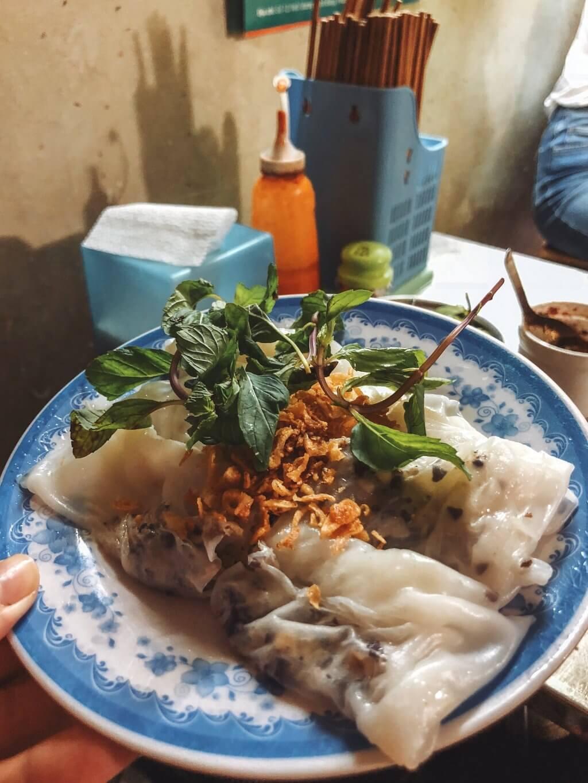 Essen in Hanoi Vietnam