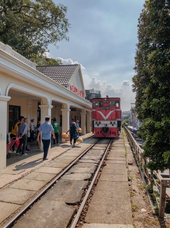Hanoi Long Bien Train Station