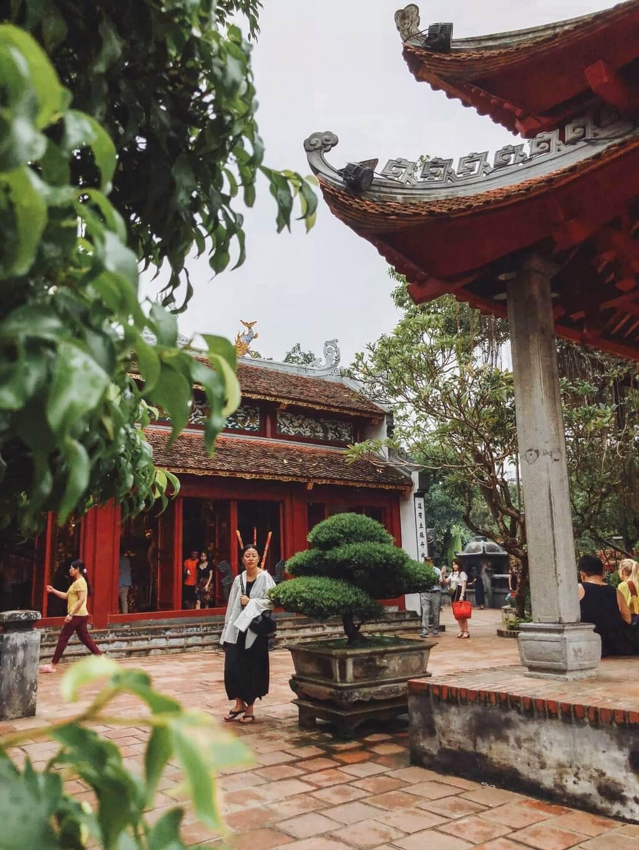Hanoi Sehenswuerdigkeiten Jadeberg Tempel