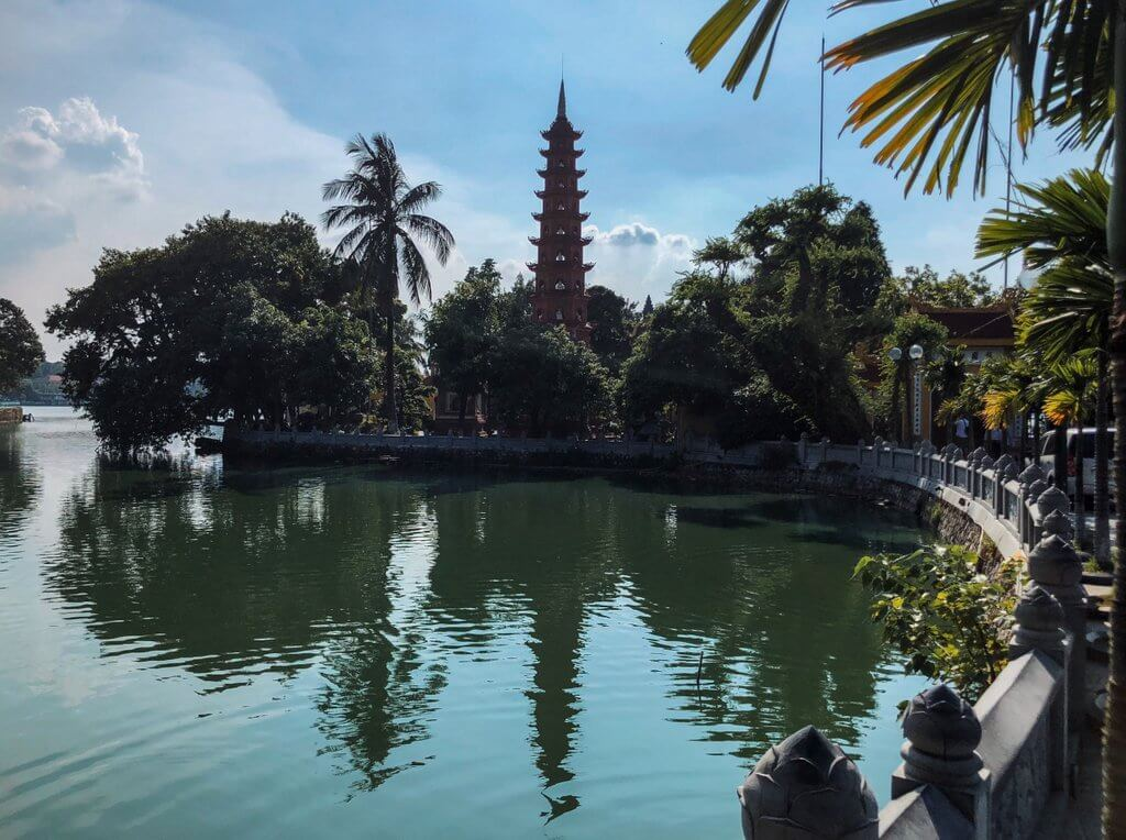 Hanoi Tipps Tran Quoc Pagode