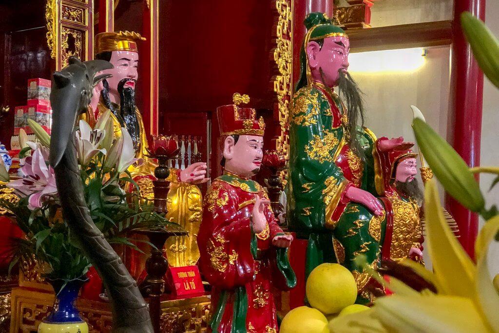 Jadeberg Tempel Hoan Kiem See Hanoi