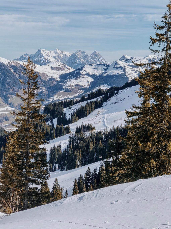 Kitzbuehel Kirchberg Winterlandschaft