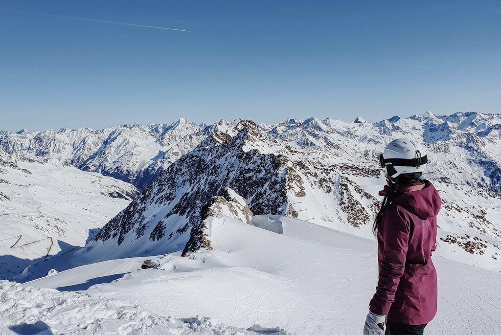 Skifahren in Soelden Tirol
