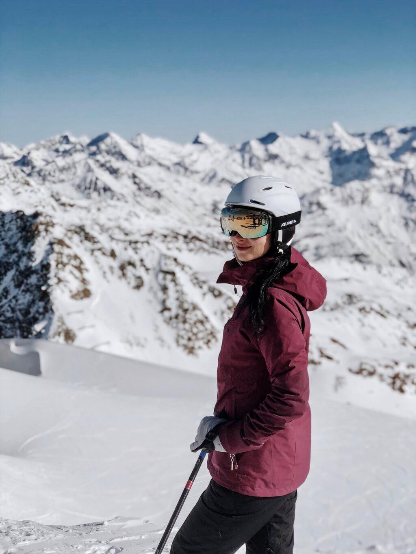 Soelden Skifahren ueber 3000 Meter