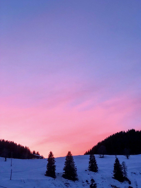 Soell Tirol Sonnenuntergang