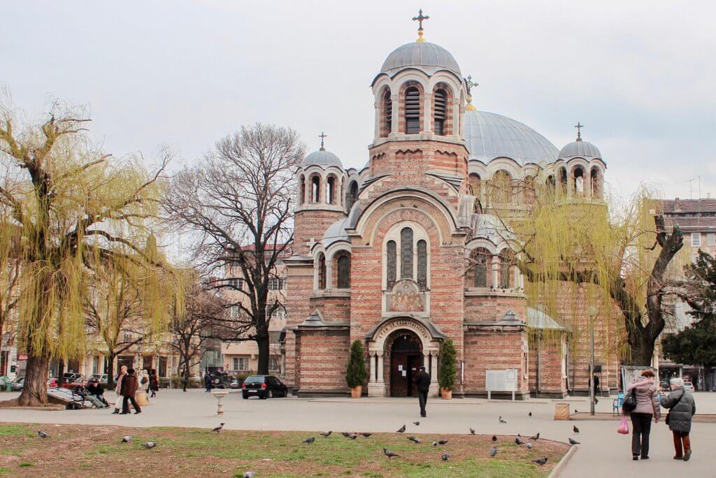 Sofia Sehenswürdigkeiten Kirche Sveti Sedmochislenitski
