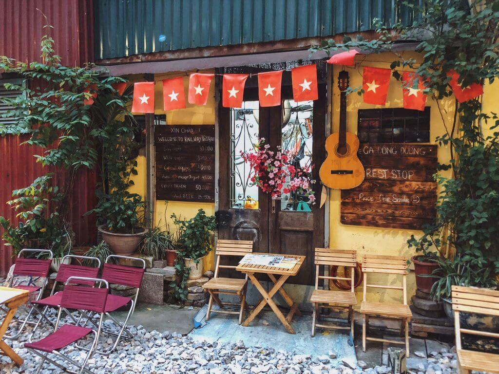 Train Street Hanoi Cafe